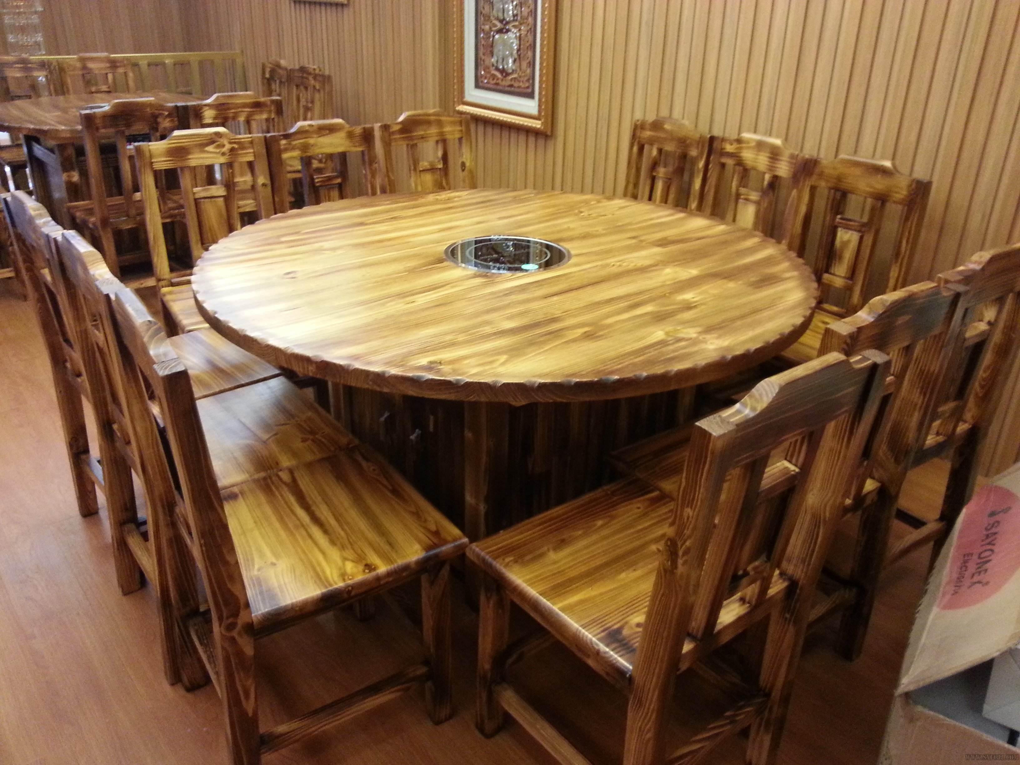 火锅店桌子怎样连接电路